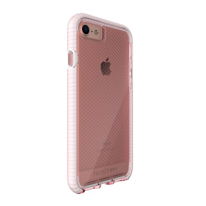 Tech21 Evo Check for iPhone 7 Light Rose