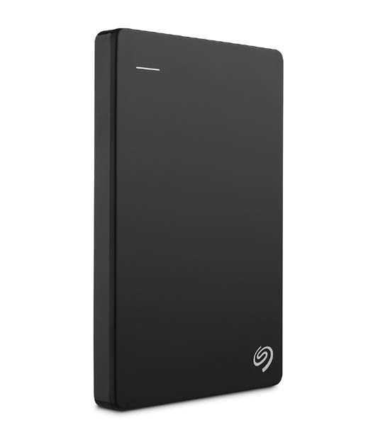 Seagate Backup Plus Slim Portable Drive 2TB For PC/Mac Black