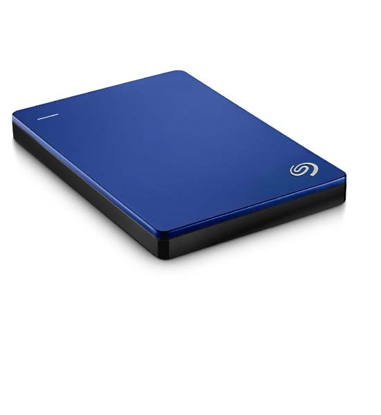 Seagate Backup Plus Slim Portable Drive 2TB For PC/Mac Blue