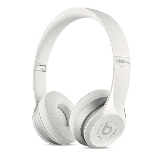Beats Solo2 Wireless Headphones - White