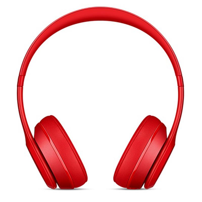Beats Solo2 Wireless Headphones - Red | Tradeline Egypt Apple