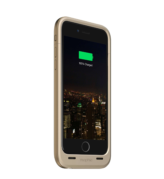 Mophie Juice Pack Plus 120 Percent for iPhone 6 Gold