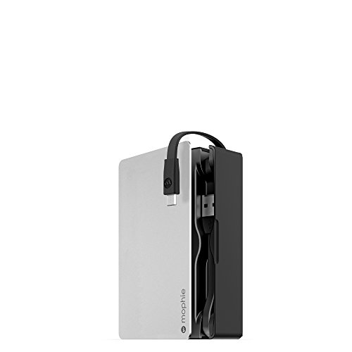 Mophie Powerstation Plus 3X 5000 mAh Silver/Black