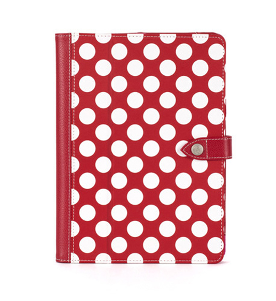 Griffin Folio Back Bay Polka iPad Air Red/White | Tradeline Egypt Apple