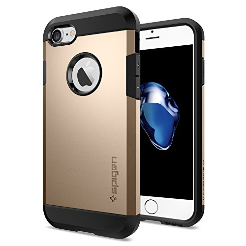 Spigen iPhone 7 Case Tough Armor Champagne Gold : Tradeline Stores