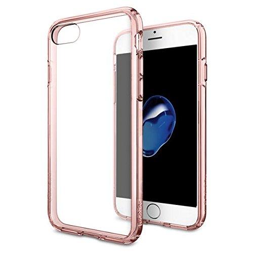 Spigen iPhone 7 Case Ultra Hybrid Rose Crystal