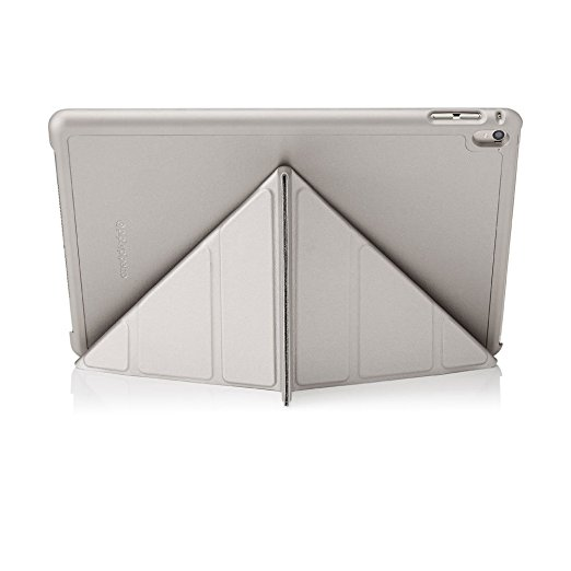 Pipetto Origami Case For iPad Pro 9.7 Silver