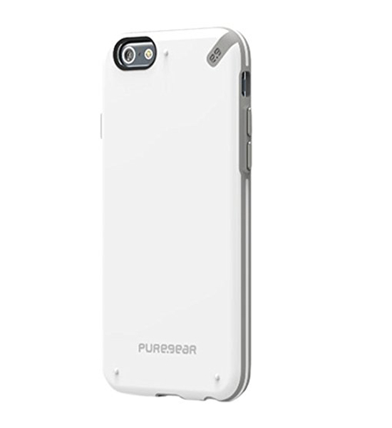 PureGear Slim Shell White/Gray for iPhone 6