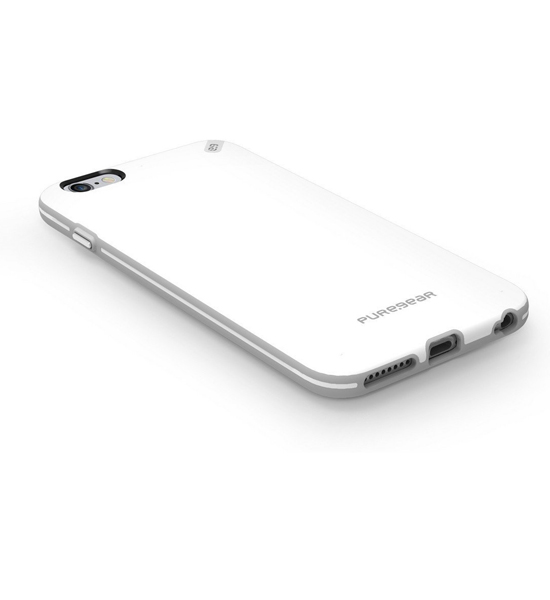 PureGear Slim Shell White/Gray for iPhone 6 Plus