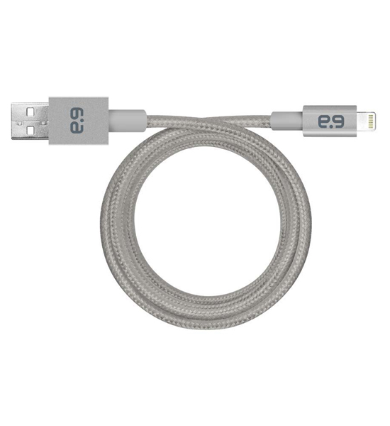 PureGear Metallic Charge-Sync Cable Gray