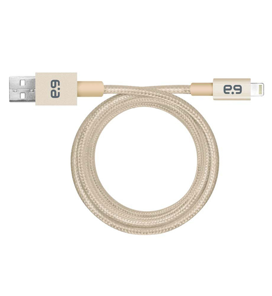 PureGear Metallic Charge-Sync Cable Gold