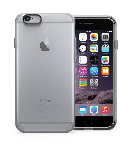 Puregear Slim Shell Pro Clear/Clear for iPhone 6s/6