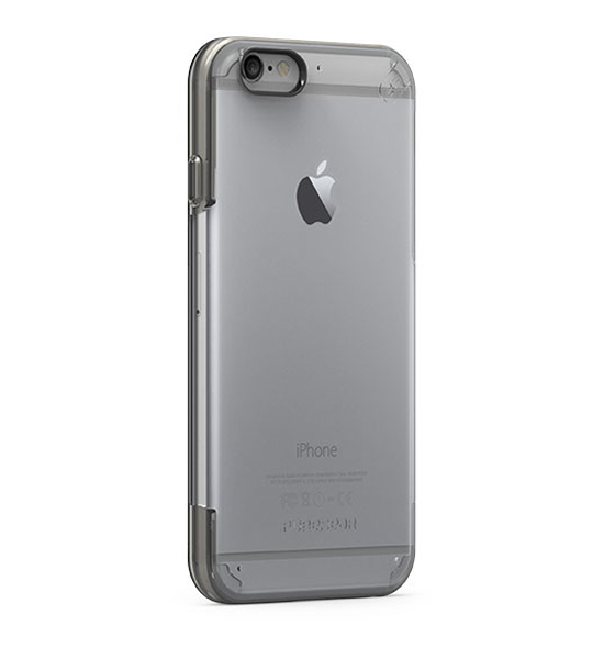 Puregear Slim Shell Pro Clear/Black for iPhone 6s/6