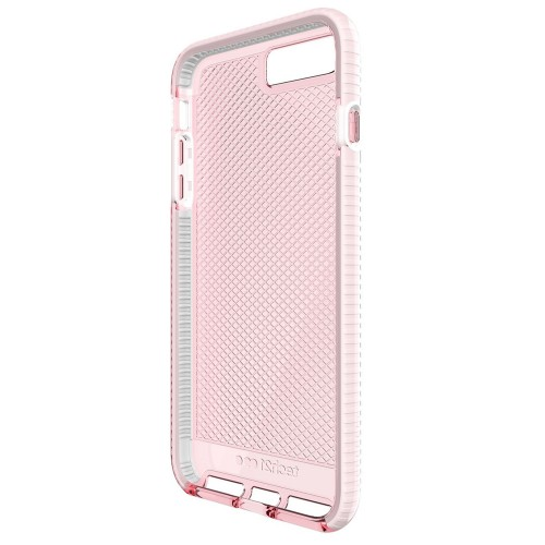Tech21 Evo Check for iPhone 7 Plus Light Rose/White