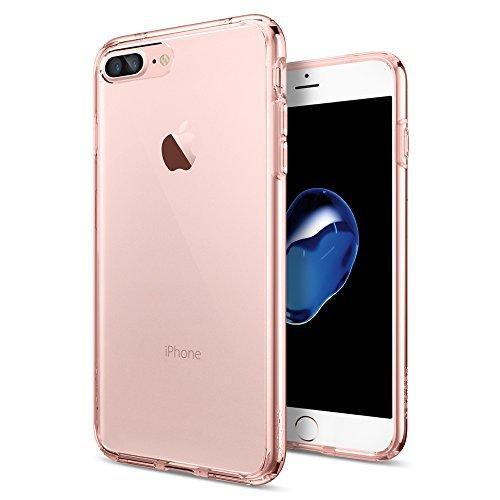 Spigen iPhone 7 Plus Case Ultra Hybrid Rose Crystal | Tradeline Egypt Apple