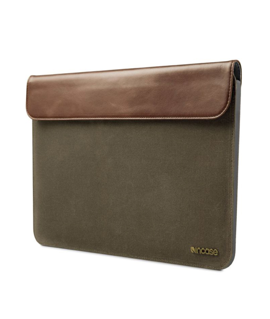 "Incase Pathway Slip Sleeve For MacBook Air 13"" Olive Canvas"