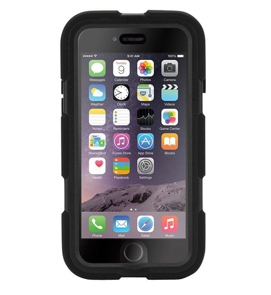 Griffin Survivor iPhone 6 Black