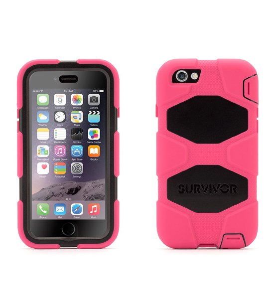 Griffin Survivor iPhone 6 Pink