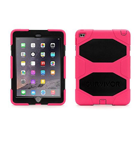 Griffin Survivor iPad Air 2 Pink/Black