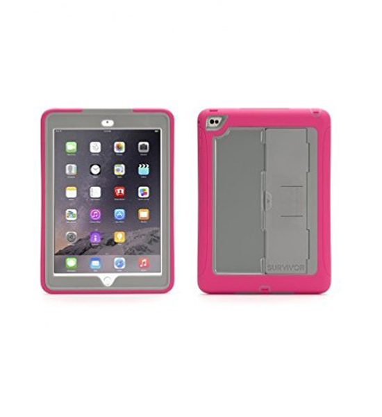 Griffin Survivor Slim iPad Air 2 Gray Pink