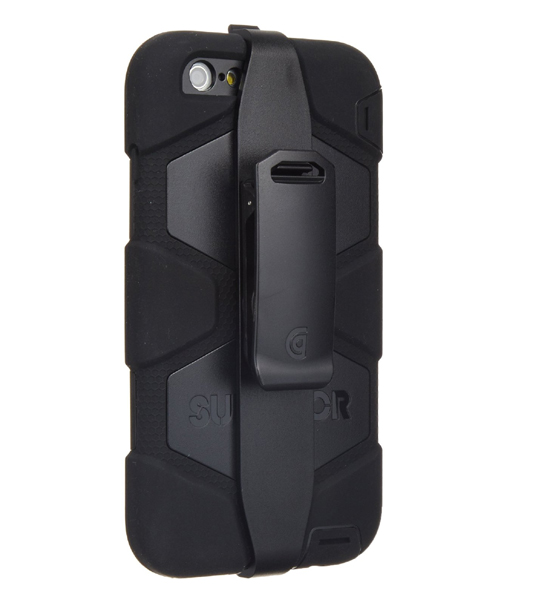 Griffin Survivor iPhone 6 Plus Black