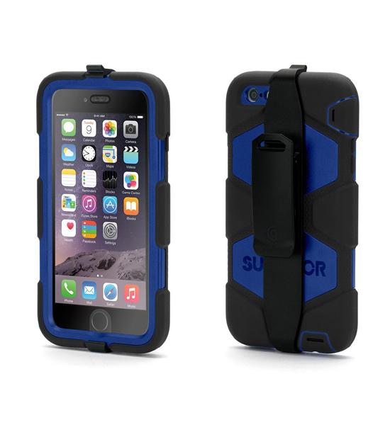 Griffin Survivor iPhone 6 Plus Black/Blue