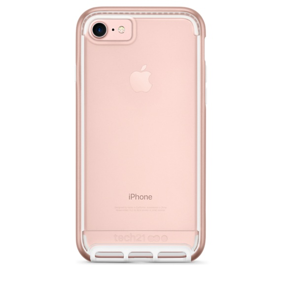 Tech21 Evo Elite for iPhone 7  Polished Rose Gold