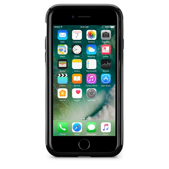 Tech21 Evo Elite for iPhone 7  Brushed Black