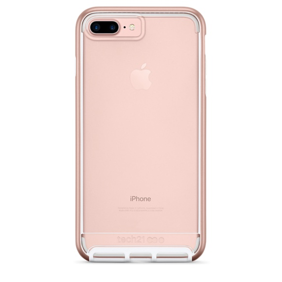 Tech21 Evo Elite for iPhone 7 Plus Polished Rose Gold