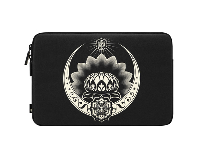 Incase Shepard Fairey Coated Canvas Sleeve Lotus Ornament