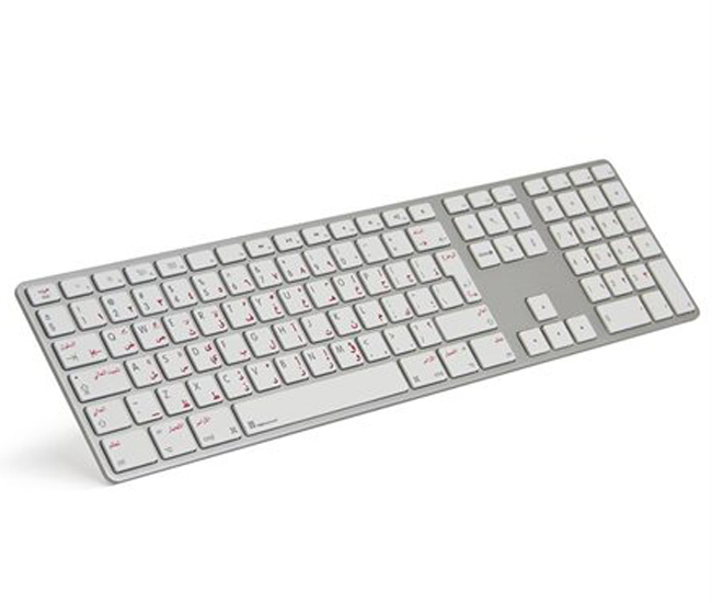 Apple Keyboard with Numeric Keypad - Arabic