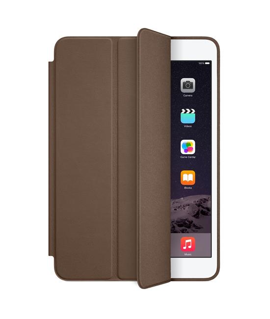 Apple iPad mini Smart Case - Leather - Olive Brown