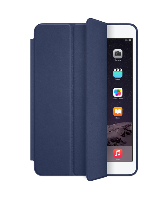Apple iPad mini Smart Case - Leather - Midnight Blue