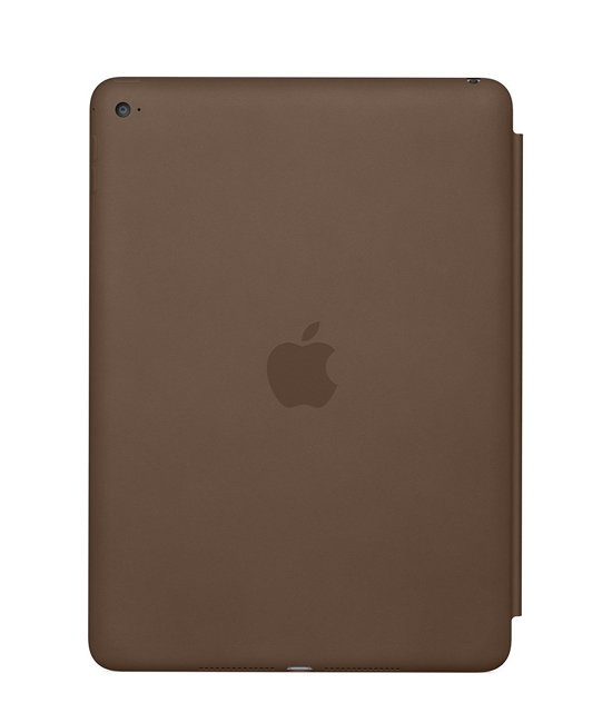 Apple iPad Air 2 Smart Case - Leather - Olive Brown