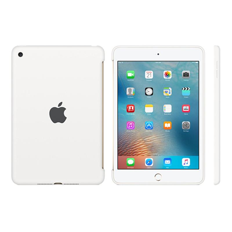 Apple iPad mini 4 Silicone Case - White