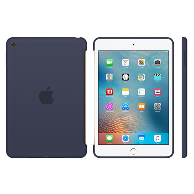 Apple iPad mini 4 Silicone Case - Midnight Blue