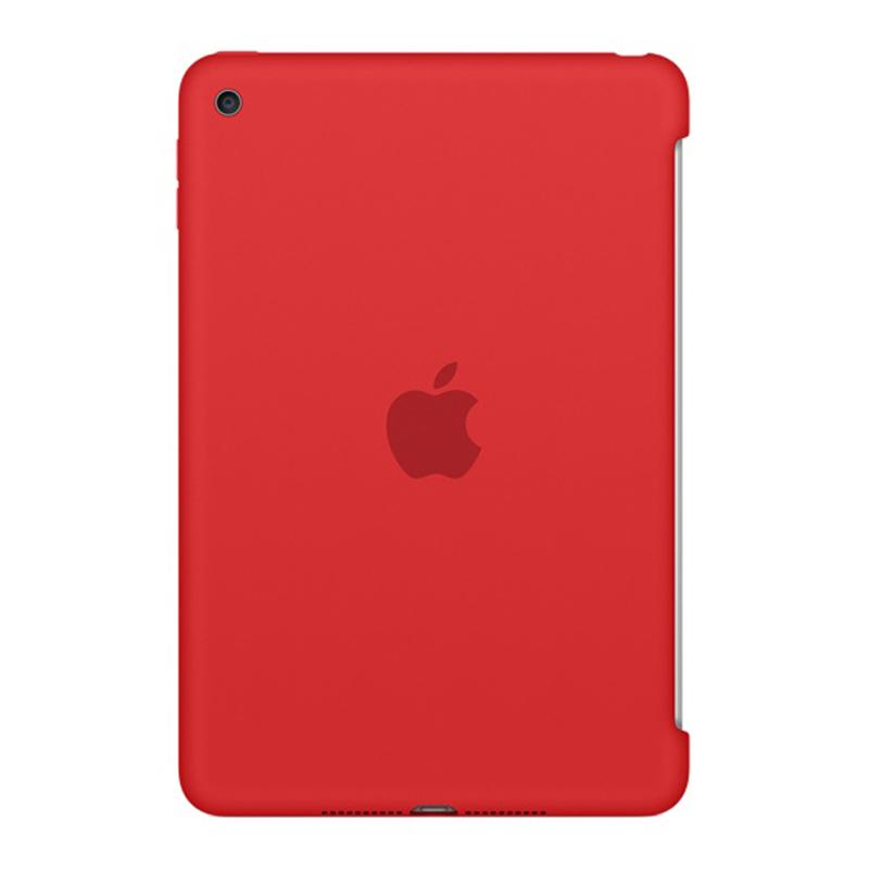 Apple iPad mini 4 Silicone Case - Red