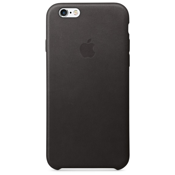 Apple iPhone 6/6s Plus Leather Case Black