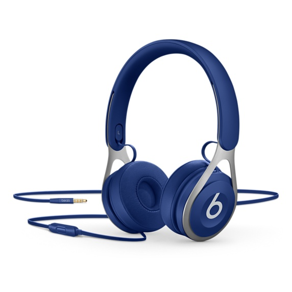 Beats EP On-Ear Headphones - Blue | Tradeline Egypt Apple