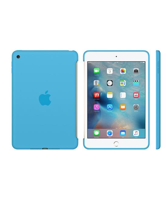 Apple iPad mini 4 Silicone Case - Blue