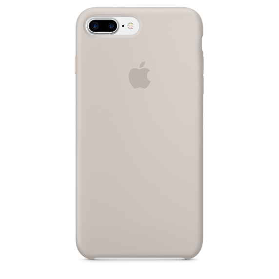 iPhone 7 Plus Silicone Case - Stone
