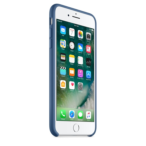 iPhone 7 Plus Silicone Case - Ocean Blue