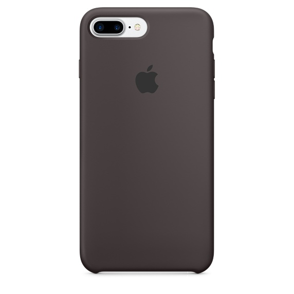 iPhone 7 Plus Silicone Case - Cocoa