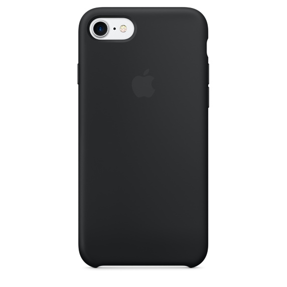 iPhone 7 Silicone Case - Black | Tradeline Egypt Apple
