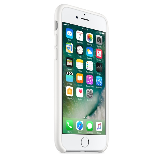 iPhone 7 Silicone Case - White