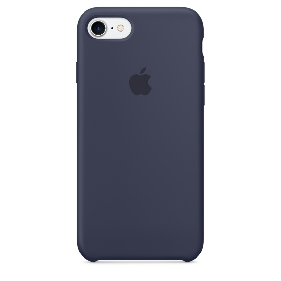 iPhone 7 Silicone Case - Midnight Blue