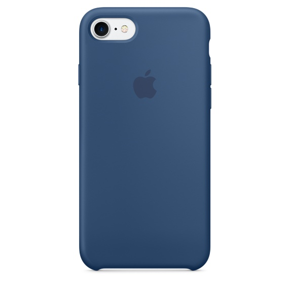 iPhone 7 Silicone Case - Ocean Blue
