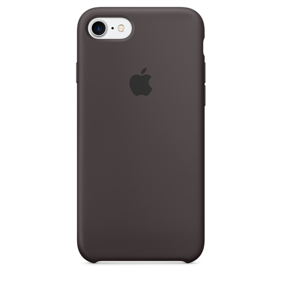 iPhone 7 Silicone Case - Cocoa