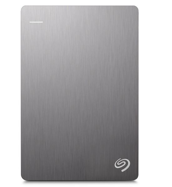 Seagate Backup Plus Slim Portable 1TB Silver