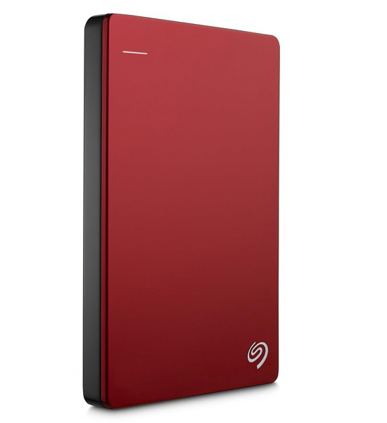 Seagate Backup Plus Slim Portable 1TB Red